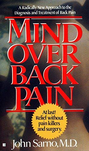 9780425127001: Mind Over Back Pain by John E. Sarno
