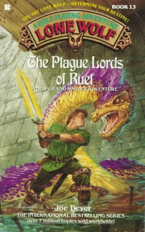 9780425132456: The Plague Lords of Ruel (Lone Wolf Game-Book)