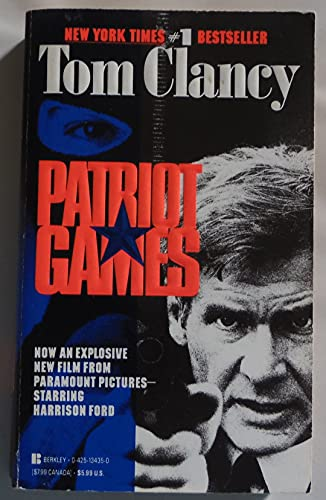 Patriot Games (0425134350) by Clancy, Tom