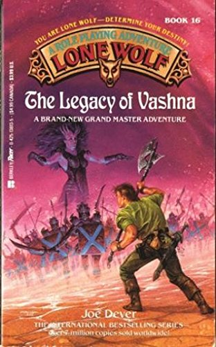 9780425138137: The Legacy of Vashna (Lone Wolf, Book 16)