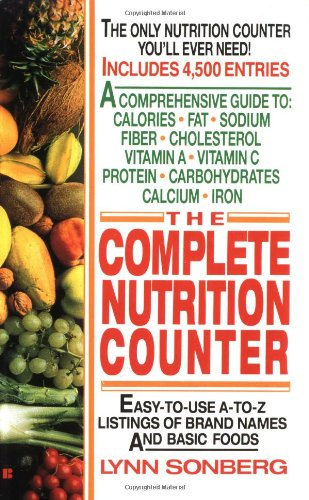 9780425138595: The Complete Nutrition Counter
