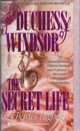 9780425139189: The Duchess of Windsor: The Secret Life