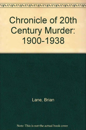9780425146491: Chronicle of 20th-Century Murder 1