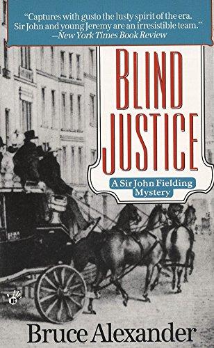 9780425150078: Blind Justice (Sir John Fielding)
