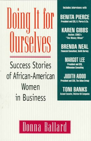 9780425156131: Doing it for ourselves: success stories of african-american