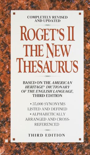 9780425156681: Roget's II: The New Thesaurus