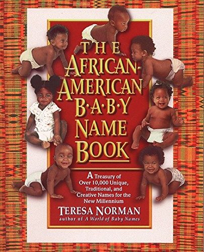 9780425159392: The African-American Baby Name Book: A Treasury of over 10,000 Unique, Traditional, and Creative Names for the New Millennium