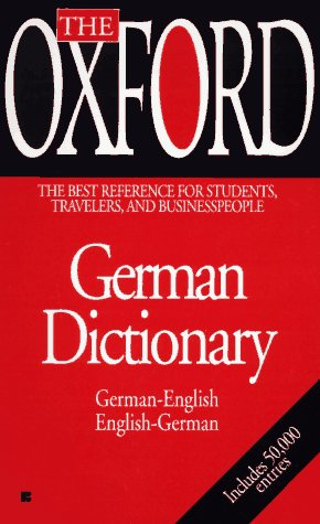 The Oxford German Dictionary (0425160114) by Oxford University Press