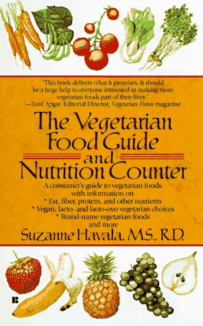 Vegetarian Food Guide and Nutrition Counter: Havala, Susan