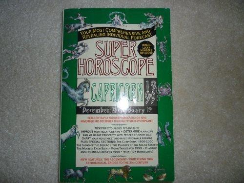 9780425163337: Super Horoscopes 1999: Capricorn