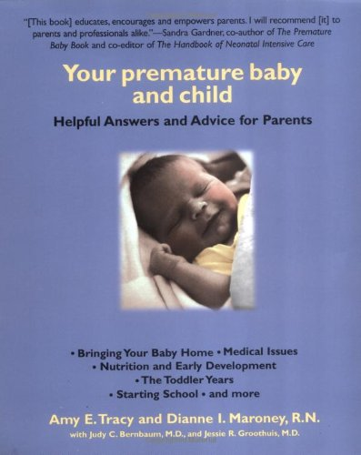 9780425165065: Your Premature Baby and Child