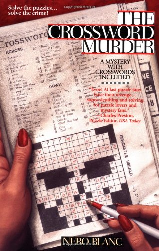 9780425169773: The Crossword Murder (Prime Crime)