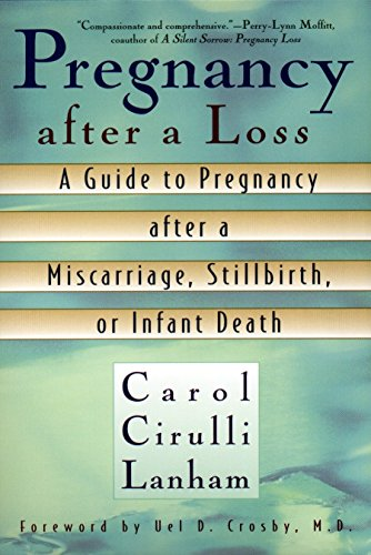 Pregnancy After a Loss: A Guide to Pregnancy After a Miscarriage, Stillbirth, or Infant Death: ...
