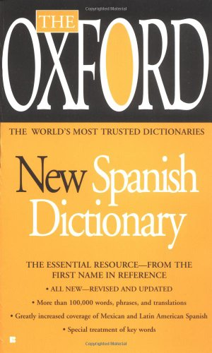 9780425170908: The Oxford New Spanish Dictionary
