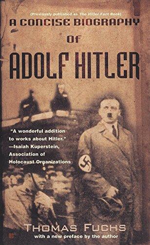 9780425173404: A Concise Biography of Adolf Hitler