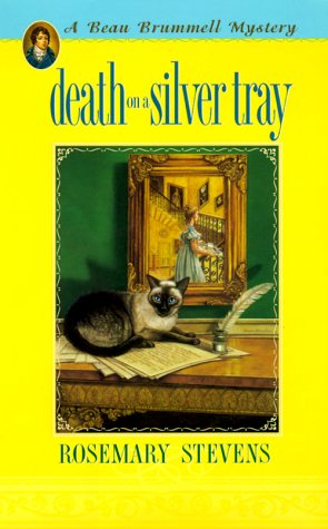 Death on a Silver Tray ***SIGNED***: Rosemary Stevens