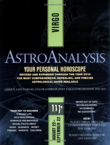 AstroAnalysis: Virgo (AstroAnalysis Horoscopes): Institute, Amer. AstroAnalysts