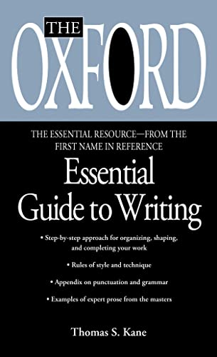 9780425176405: The Oxford Essential Guide to Writing (Essential Resource Library)