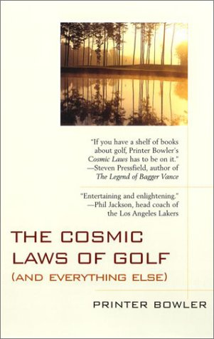 9780425178300: The Cosmic Laws of Golf (and everything else)