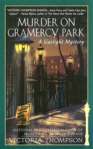 Murder on Gramercy Park (Gaslight Mysteries): Thompson, Victoria