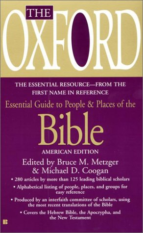 9780425180679: Oxford Guide to People and Places of the Bible