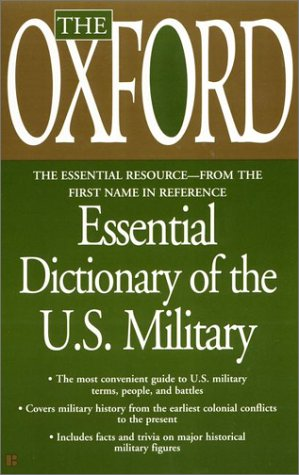 9780425180693: The Oxford Essential Dictionary of the U.S. Military