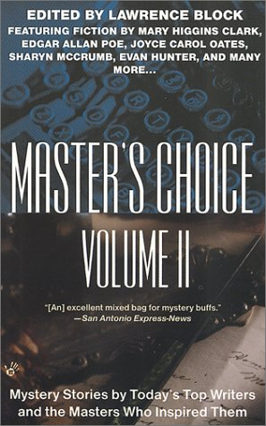 9780425182253: Master's Choice Vol. II: Mystery Stories by Today's Top Writers and the Masters who Inspired Them Vol II