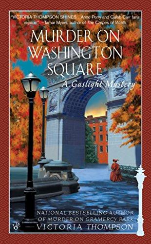 Murder on Washington Square (Gaslight Mysteries): Thompson, Victoria
