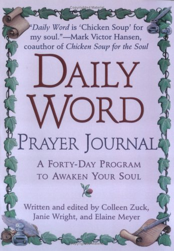9780425185384: Daily Word Prayer Journal: A Forty-Day Program to Awaken Your Soul