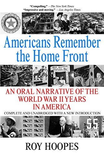 9780425186640: Americans Remember the Homefront: An Oral Narrative of the World War II Years in America