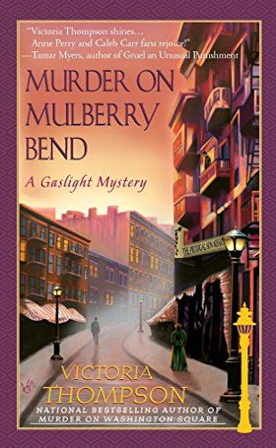 Murder on Mulberry Bend (Gaslight Mystery): Thompson, Victoria