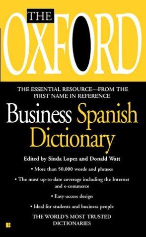 9780425190951: The Oxford Business Spanish Dictionary