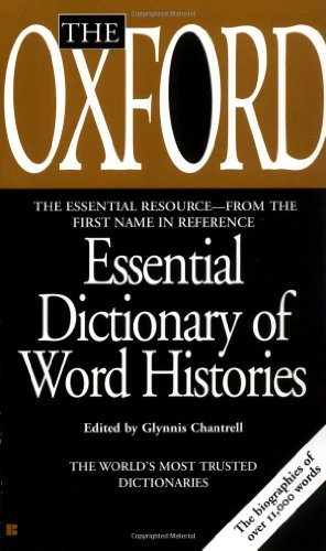 9780425190982: Oxford Essential Dictionary of Word Histories