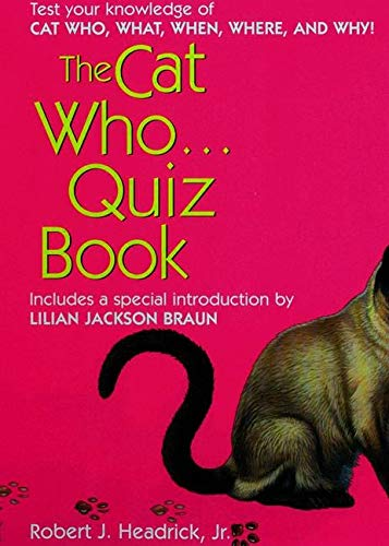9780425191873: The Cat Who... Quiz Book