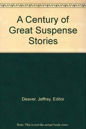 9780425193389: A Century of Great Suspense Stories