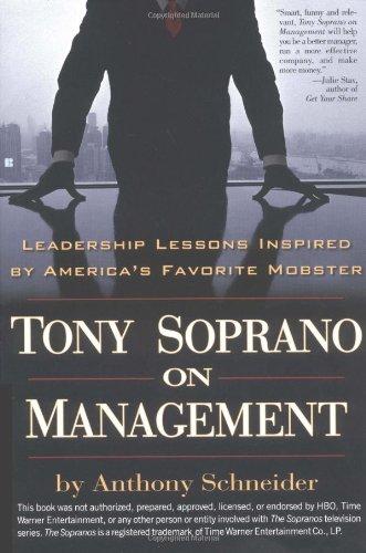 9780425194942: Tony Soprano On Management