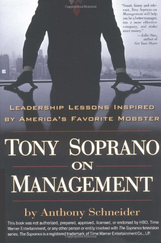 9780425194942: Tony Soprano on Management: Leadership Lessons Inspired by America's Favorite Mobster