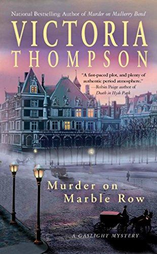 851056780bb Murder on Marble Row  A Gaslight Mystery  Victoria Thompson