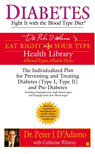 9780425201053: Diabetes: Fight It with the Blood Type Diet: The Individualized Plan for Preventing and Treating Diabetes (Type I, Type II) and Pre-Diabetes (Eat Right 4 Your Type)