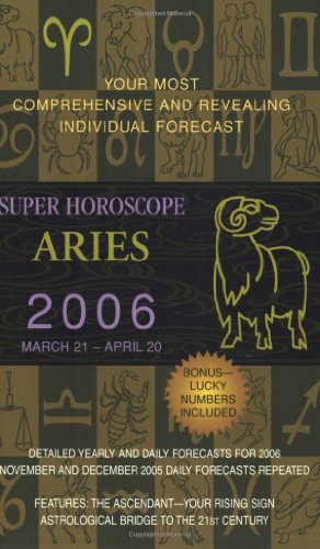 9780425202166: Aries (Super Horoscopes 2006)