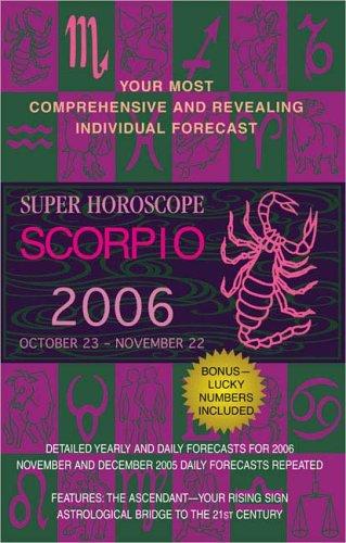 9780425202234: Scorpio (Super Horoscopes 2006)