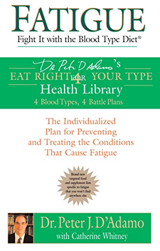 9780425207543: Fatigue: Fight It with the Blood Type Diet (Eat Right 4 Your Type)