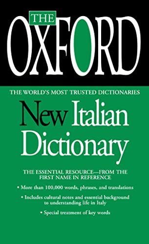 9780425216736: The Oxford New Italian Dictionary: The Essential Resource, Revised and Updated