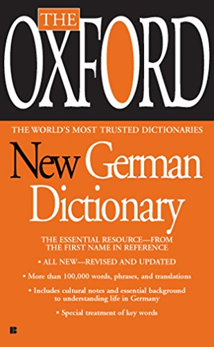The Oxford New German Dictionary: The Essential: Oxford University Press