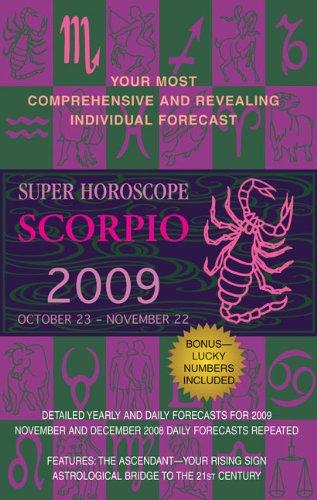 9780425220047: Scorpio (Super Horoscopes 2009)