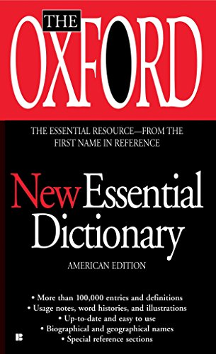 The Oxford New Essential Dictionary: American Edition: Oxford University Press