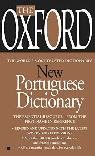 9780425222447: The Oxford New Portuguese Dictionary: Portuguese-English, English-Portuguese