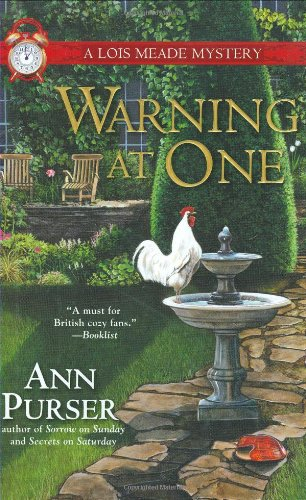 9780425223741: Warning at One (Lois Meade Mystery)