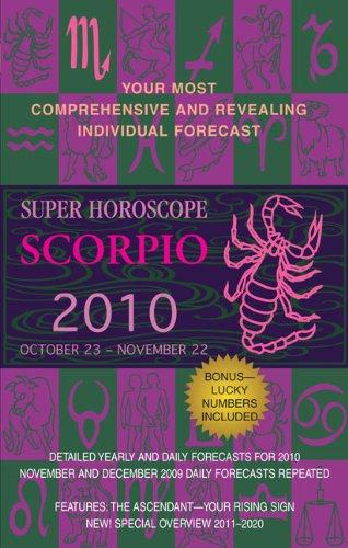 9780425226582: Scorpio (Super Horoscopes 2010)