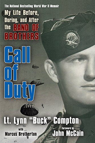 CALL OF DUTY: MY LIFE BEFORE, DURING, AND AFTER THE BAND OF BROTHERS (SIGNED BY AUTHOR): Compton, ...